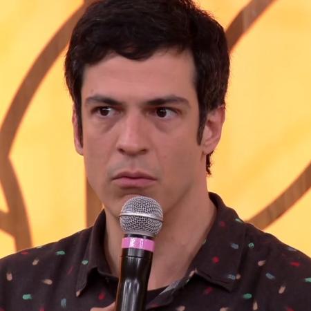 """Mateus Solano no """"Encontro com Fátima Bernardes"""" - Reprodução/TV Globo"""