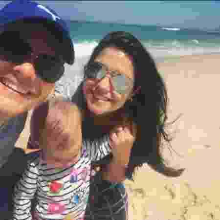 Michel Teló, Melinda e Thais Fersoza no Rio de Janeiro - Reprodução/Instagram/tatafersoza