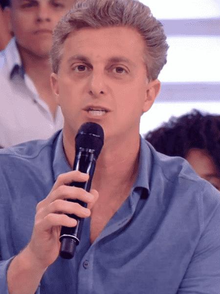 Jô lamenta a ausência de Huck na eleição presidencial - Reprodução/TV Globo