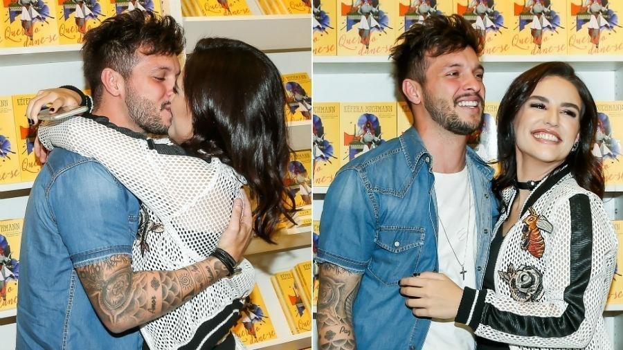 Tacyo e Kéfera quando ainda estavam juntos em setembro - Manuela Scarpa/Brazil News