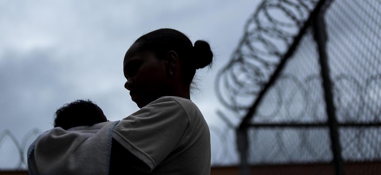 Na prisão, inaugurada em 2009, as detentas podem ficar com bebês de até um ano - Leo Drumond