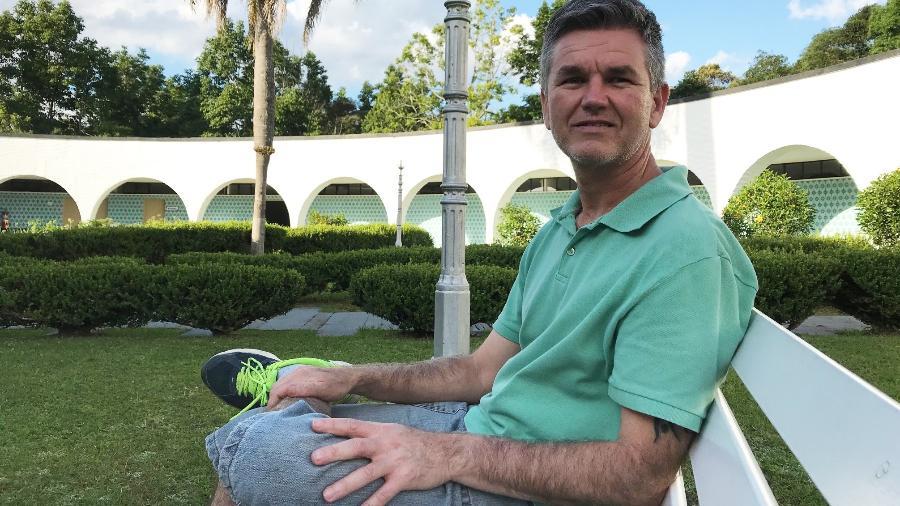 Rodrigo Rocha Ribeiro de Souza, 51, fez o retiro pela primeira vez em 1999. Hoje consegue meditar duas horas por dia - Arquivo Pessoal