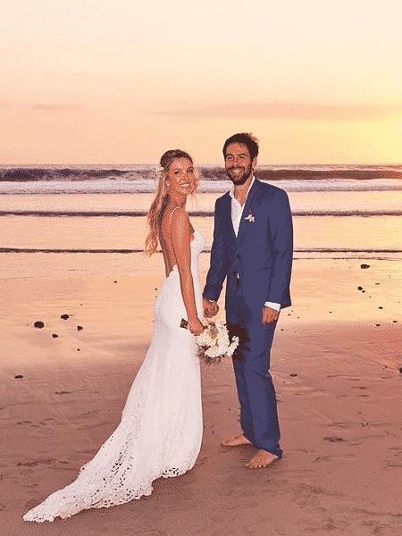 A irmã da top Gisele Bündchen, Rafaela, se casou com Pedro Antônio Tellechea Sanchotene - Reprodução/Instagram