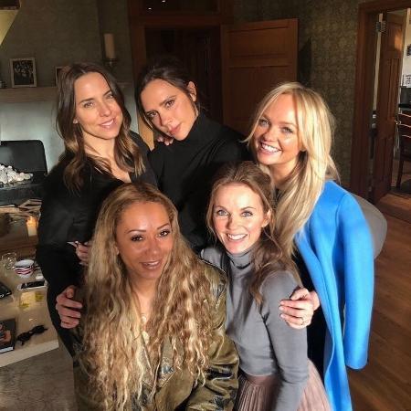 As Spice Girls reunidas em 2018 - Reprodução/Instagram
