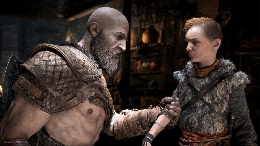 God of War - PS4 Screen - Divulgação