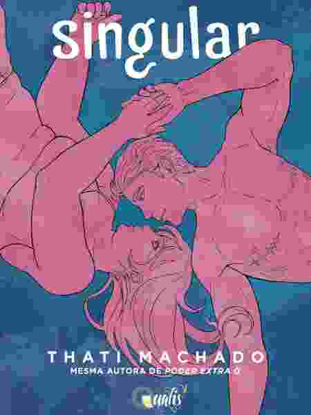 """Livro """"Singular"""", de Thati Machado, acompanha a história de Noah, um homem trans - Divulgação"""