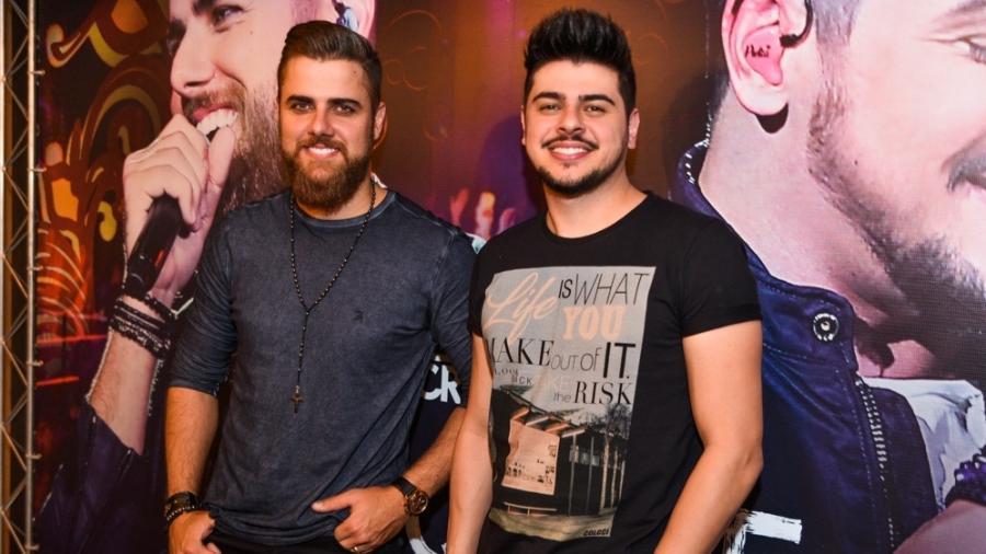 A dupla sertaneja Zé Neto e Cristiano - AgNews