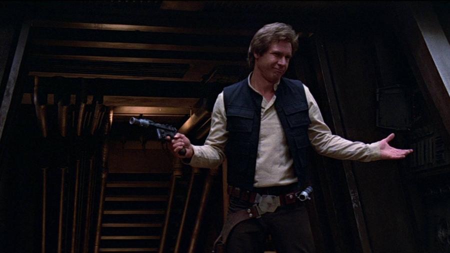"""Cena de """"O Retorno de Jedi"""" (1983) - Divulgação"""