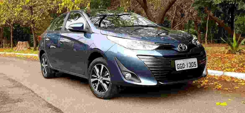 Toyota espera vender cerca de 6 mil unidades do seu novo compacto - Murilo Góes/UOL