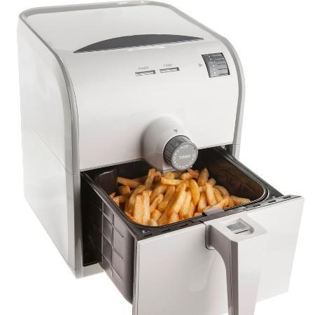Na fritadeira sem óleo, alimento é aquecido e cozido por meio de um sistema de resistência elétrica - iStock
