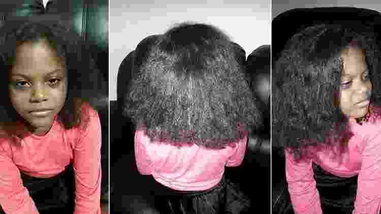 bella com cabelo alisado - Reprodução/Facebook - Reprodução/Facebook