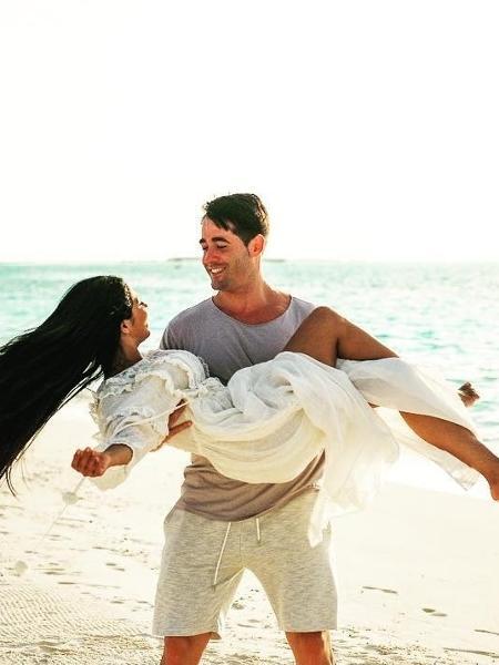 Simaria e o marido curtem as Ilhas Maldivas - Reprodução/Instagram