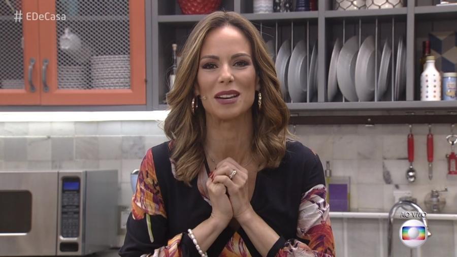 """Ana Furtado retoma o comando do """"É Casa"""" e vibra: """"Estou muito feliz"""" - Reprodução/Globo"""
