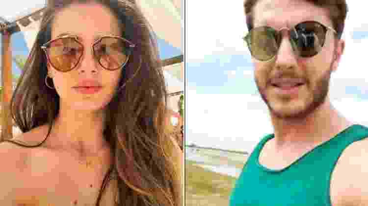 Camila Queiroz e Klebber Toledo já estão em Jeri - Reprodução/Instagram - Reprodução/Instagram
