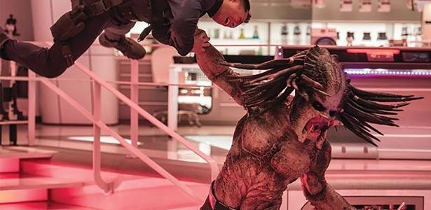 """Cena do filme """"O Predador"""""""