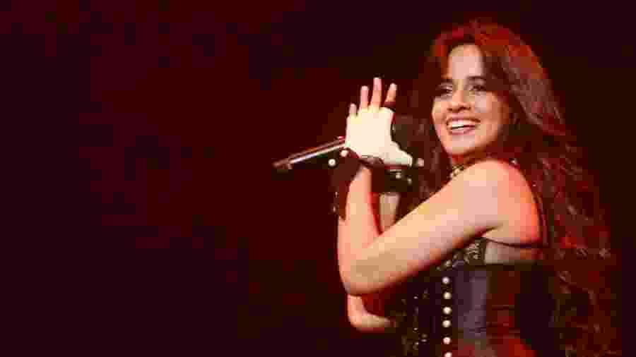14.out.2018 - Camila Cabello se apresenta durante o Z Festival, no Allianz Parque, em São Paulo - Iwi Onodera/UOL