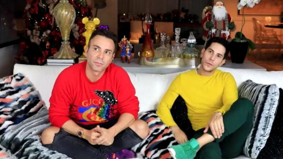 O ex-RBD Christian Chávez foi entrevistado por Matheus Mazzafera  - Reprodução/Youtube