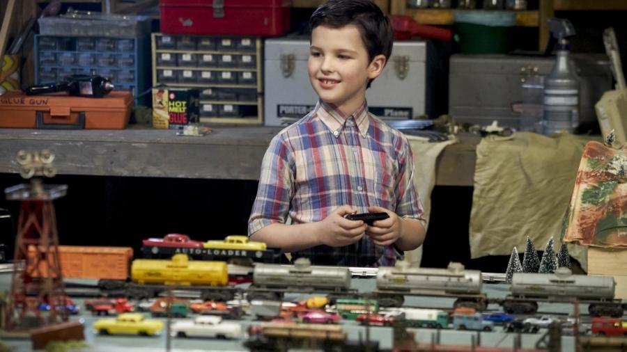 """Iain Armitage em """" Young Sheldon"""" - Divulgação"""