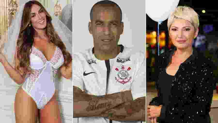 Nicole Bahls, Emerson Sheik e Antonia Fontenelle - Reprodução/Instagram