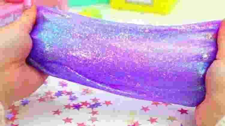 Organizações de defesa do consumidor já demonstraram preocupação com a fabricação artesanal de slime - Reprodução/Youtube - Reprodução/Youtube