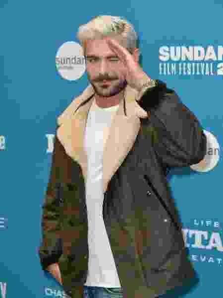 Zac Efron no festival de Sundance - Neilson Barnard/Getty Images/AFP