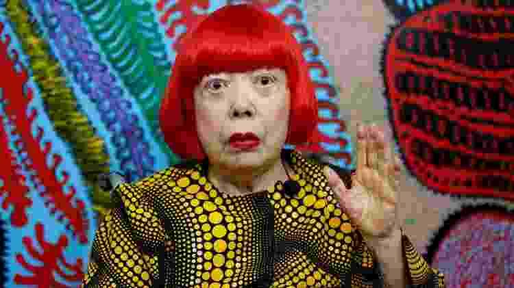 Mulheres asiáticas da história - Yayoi Kusama - Toru Hanai/Reuters - Toru Hanai/Reuters