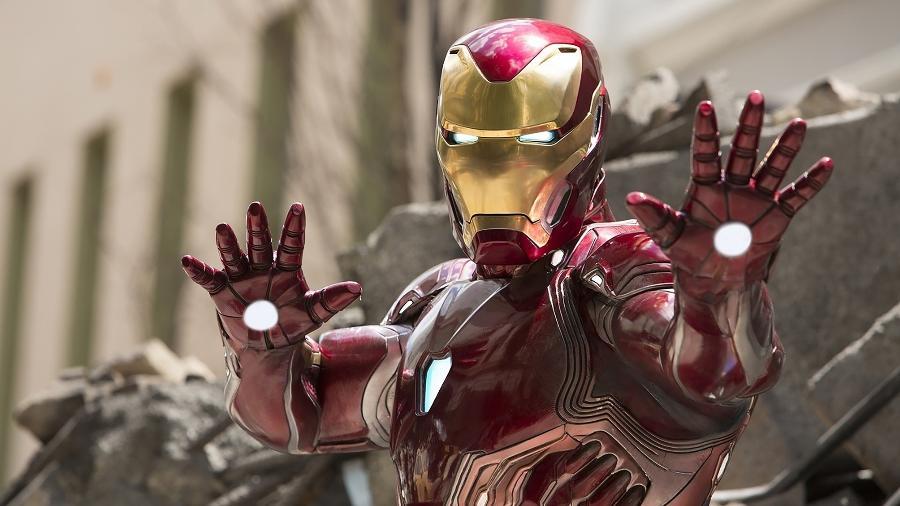 """Homem de Ferro (Robert Downey Jr.) em cena de """"Vingadores: Ultimato"""" - Divulgação"""