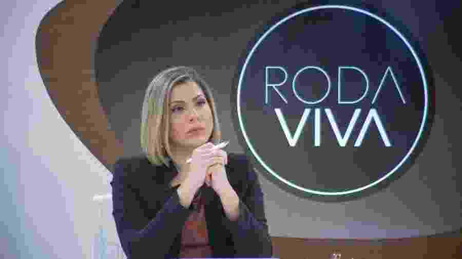"""Daniela Lima se sai muito bem como nova apresentadora do """"Roda Viva"""" - Nadja Kouchi"""