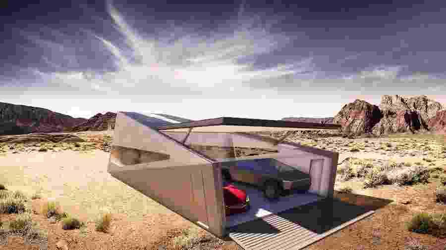Cybunker ainda se restringe a um exercício de design, mas intenção é construir e vender a garagem futurista - Lars Buro