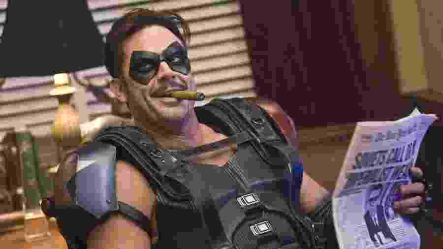 Jeffrey Morgan em Watchmen - Divulgação/Warner Bros