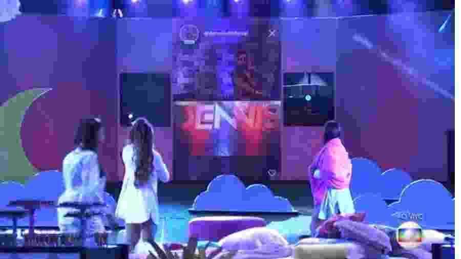 BBB 20: Festa do pijama com Dennis  DJ  -  Reprodução/Globoplay
