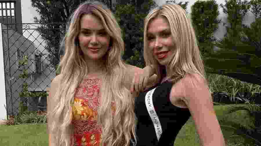 """Marcela do """"BBB 20"""" e a irmã Mariane - Reprodução/Instagram"""