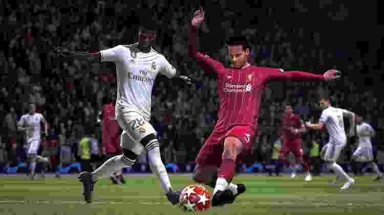 FIFA 20 Chute  - Divulgação/EA - Divulgação/EA