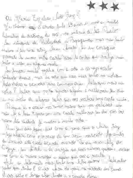 Idosos em casas de repousos recebem cartas de rede de voluntariado - Divulgação - Divulgação
