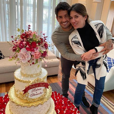 Alexandre Pato e Rebeca Abravanel celebram aniversário de casamento - Reprodução/Instagram