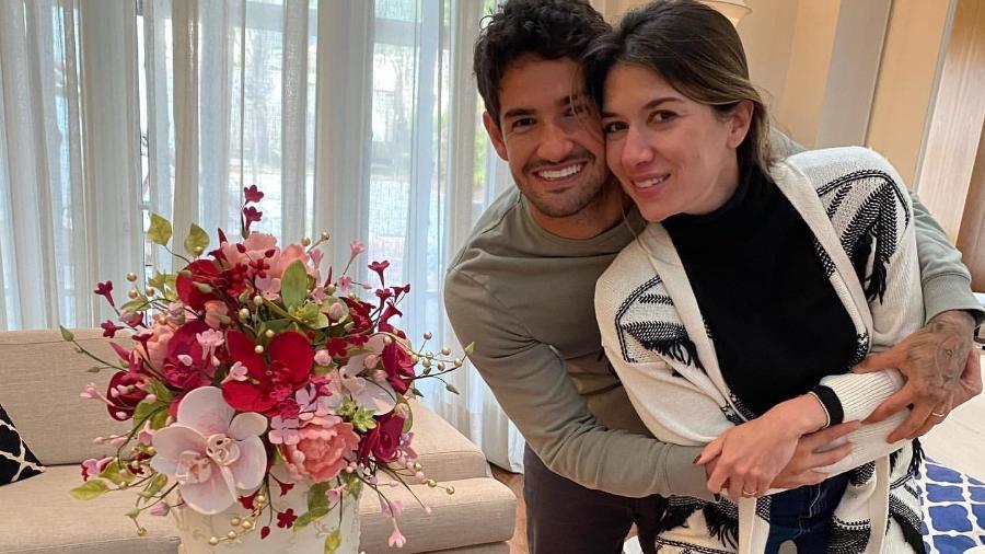Alexandre Pato e Rebeca Abravanel celebram um ano de casamento - Reprodução/Instagram