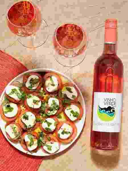 vinho verde rose - Reprodução Instagram - Reprodução Instagram
