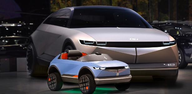 Hyundai utiliza visual de conceito e lança veículo elétrico para crianças