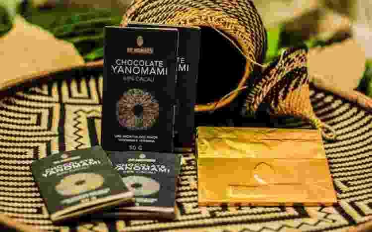 O Chocolate Yanomami beneficia cerca de 1.300 indígenas da etnia - Divulgação - Divulgação