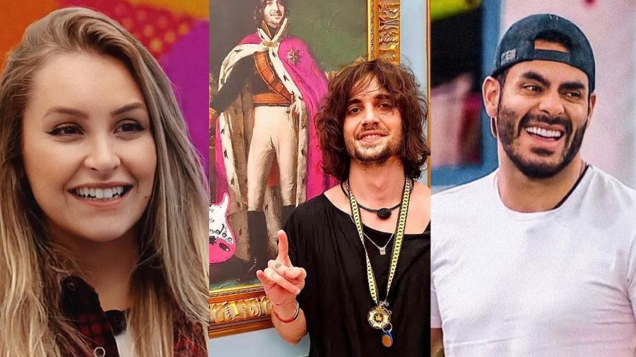 BBB 21: Carla, Fiuk e Rodolffo no paredão - Reproducão/Instagram