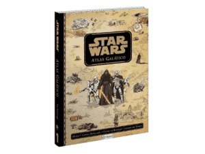 Livro: Atlas Galáctico Star Wars - Divulgação - Divulgação