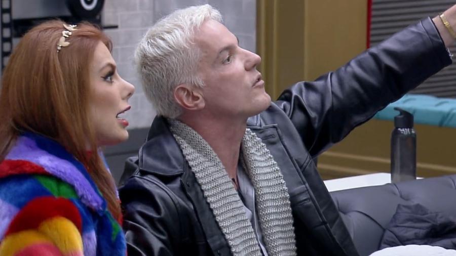 Power Couple: Deborah Albuquerque e Bruno seguem como favoritos na última DR - Reprodução/Record TV
