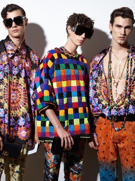 Coleção masculina 2022 da Dolce & Gabbana - Divulgação