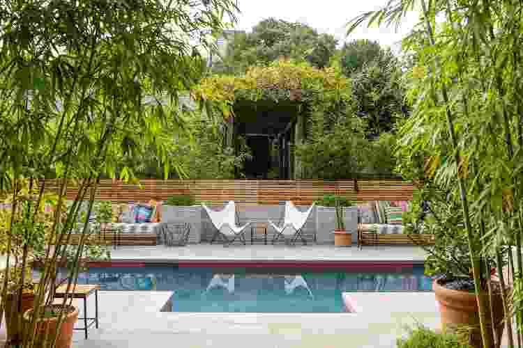 Área da piscina do Hotel San Jose, em Austin, no Texas, um dos estados mais promissores para os novos empreendimentos - Hannah Koehler - Hannah Koehler