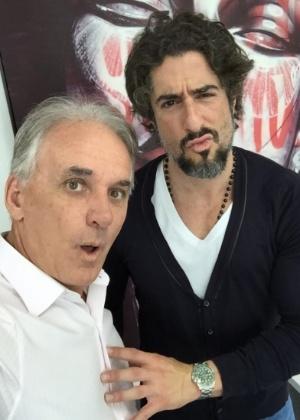 Marcos Mion sofreu tentativa de assalto antes de reunião com Otávio Mesquita - Arquivo Pessoal