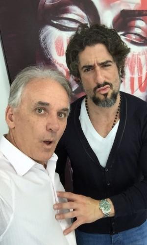 Otávio Mesquita e Marcos Mion