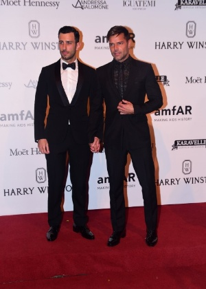 Ricky Martin e o noivo, Jwan Yosef - Léo Franco e Denilson Santos/AgNews
