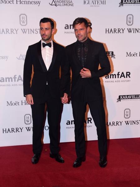 Ricky Martin confirma casamento com o cantor e artista plástico Jwan Yosef - Léo Franco e Denilson Santos/AgNews