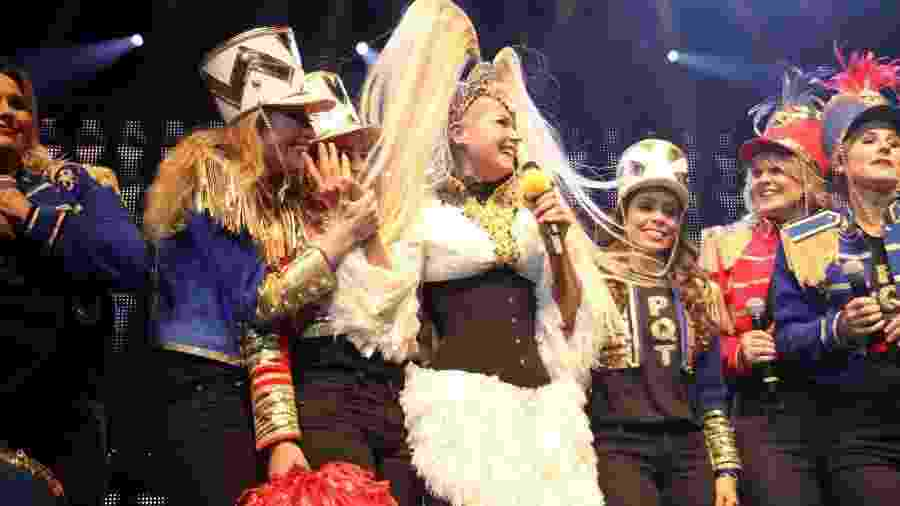 Xuxa em uma das poucas apresentações que ela fez em 2017 - Thyago Andrade/Brazilnews