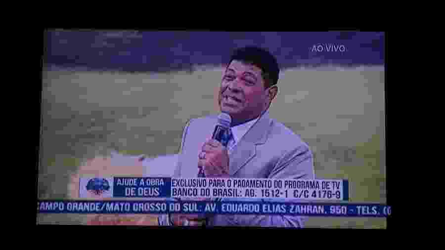 Pastor Valdomiro pede dinheiro aos fieis para manter TV - Reprodução